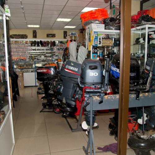 Продажа лодочных моторов и туристического снаряжения
