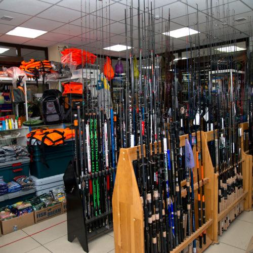 Павильон по продаже аксессуаров для рыбалки и отдыха