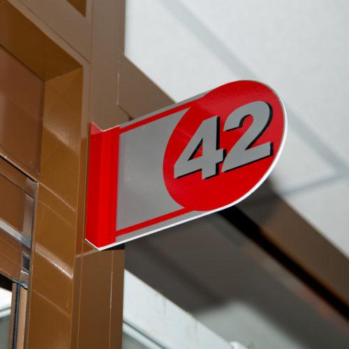 Номер павильона 42